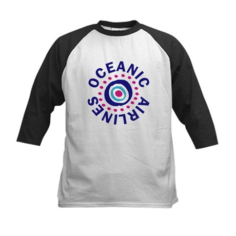 Lost Oceanic Airlines Kids Baseball Jersey