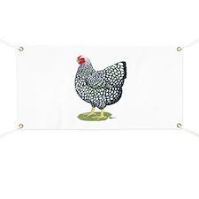 Wyandotte Silver Hen Banner