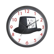 TenOverSix Top Hat Wall Clock