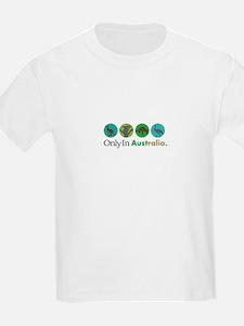 Only In Australia - Animals T-Shirt