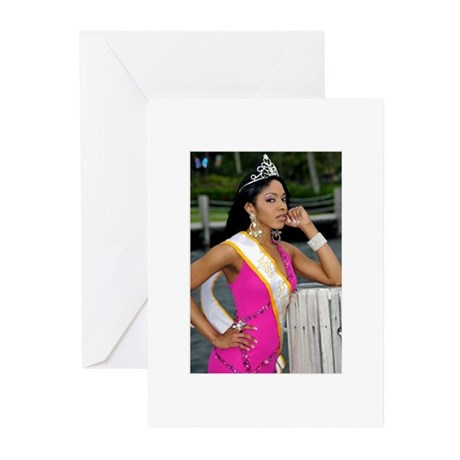 Miss Runway Greeting Cards (Pk of 10)