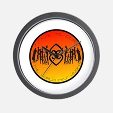 Asase Ye Duru Adinkra Mother earth Wall Clock