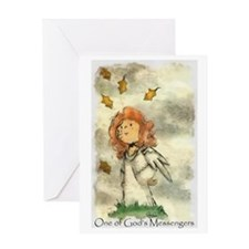 Funny Angel Greeting Card
