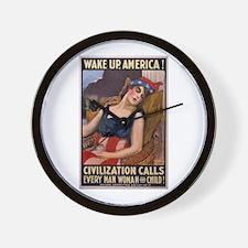 Cool Propaganda Wall Clock