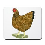 Wyandotte Gold Laced Hen Mousepad