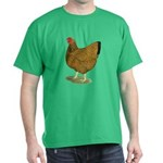 Wyandotte Gold Laced Hen Dark T-Shirt