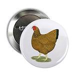"Wyandotte Gold Laced Hen 2.25"" Button (10 pac"