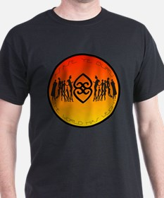 Asase Ye Duru Adinkra Mother earth Black T-Shirt