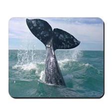 Mousepad-Whale (Gray)