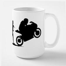 Bike Racing Ceramic Mugs