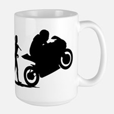 Bike Racing Large Mug