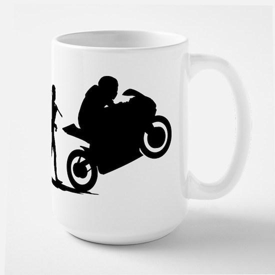 Bike Racing Large Mug