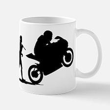Bike Racing Small Mugs