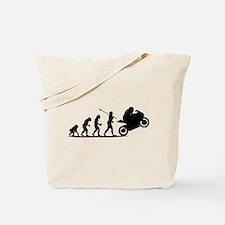 Bike Racing Tote Bag