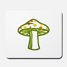 Wonderland Mushroom Mousepad