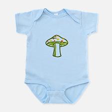 Wonderland Mushroom Infant Bodysuit