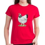 Wyandotte Columbian Hen Women's Dark T-Shirt