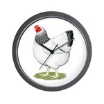Wyandotte Columbian Hen Wall Clock