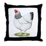 Wyandotte Columbian Hen Throw Pillow