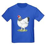 Wyandotte Columbian Hen Kids Dark T-Shirt