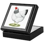 Wyandotte Columbian Hen Keepsake Box