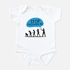 Stop Following Me! Infant Bodysuit