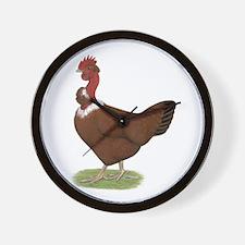 Naked Neck Hen Wall Clock