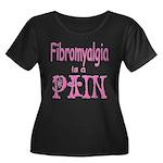 Fibromyalgia is a Pain Women's Plus Size Scoop Nec