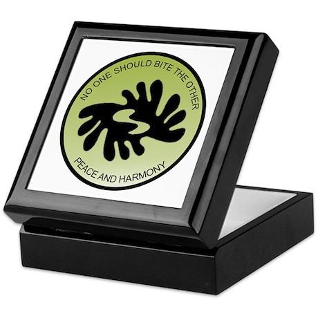 Bi nka bi peace and harmony symbol Keepsake Box