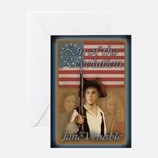 Funny Revolutionary war Greeting Card