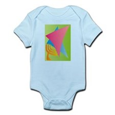 Jewish Star Menora Infant Bodysuit