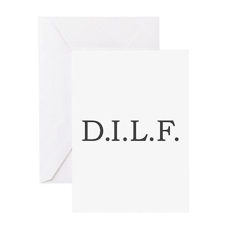 """""""D.I.L.F."""" Greeting Card"""