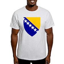 Bosnia Herzegovina Coat of Arms (Front) T-Shirt