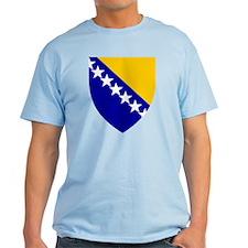 Bosnia Herzegovina Coat of Arms T-Shirt