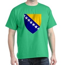 Bosnia Herzegovina Coat of Arms (Front) T-Shirt