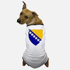 Bosnia Herzegovina Coat of Arms Dog T-Shirt