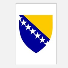 Bosnia Herzegovina Coat of Arms Postcards (Package