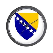 Bosnia Herzegovina Coat of Arms Wall Clock