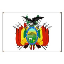 Bolivia Coat of Arms Banner
