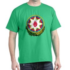 Azerbaijan Coat of Arms (Front) T-Shirt