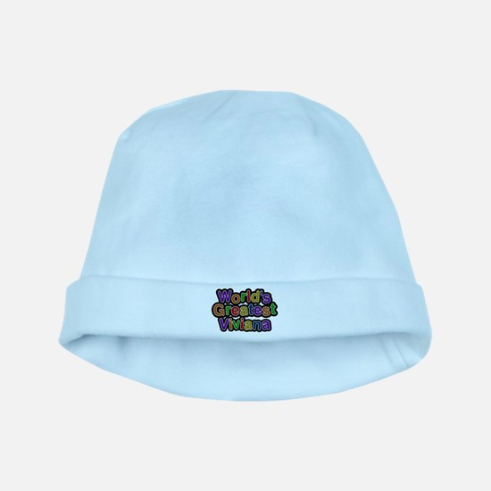 Worlds Greatest Viviana Baby Hat