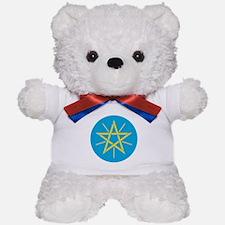 Ethiopia Coat of Arms Teddy Bear