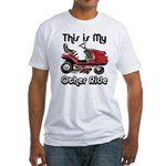 Mower My Other Ride Fitted T-Shirt