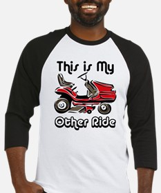 Mower My Other Ride Baseball Jersey