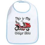 Mower My Other Ride Bib