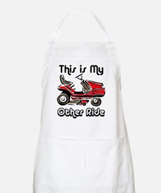 Mower My Other Ride Apron