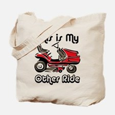 Mower My Other Ride Tote Bag