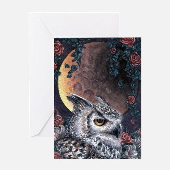 Night Magic Greeting Card