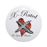 X-Rated Ornament (Round)