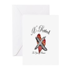 X-Rated Greeting Cards (Pk of 10)